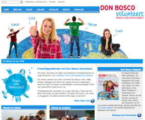 Don Bosco Volunteers Website 2017